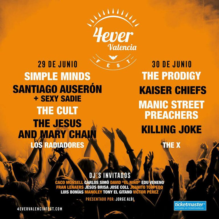 4Ever Valencia Fest presume de Line up