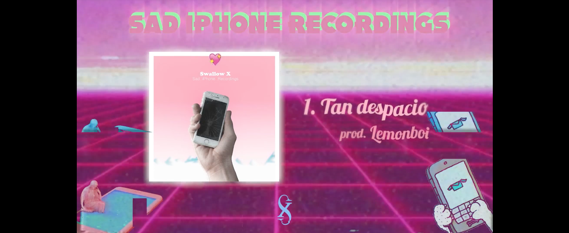 "Swallow x presenta ""Sad Iphone Recordings"""