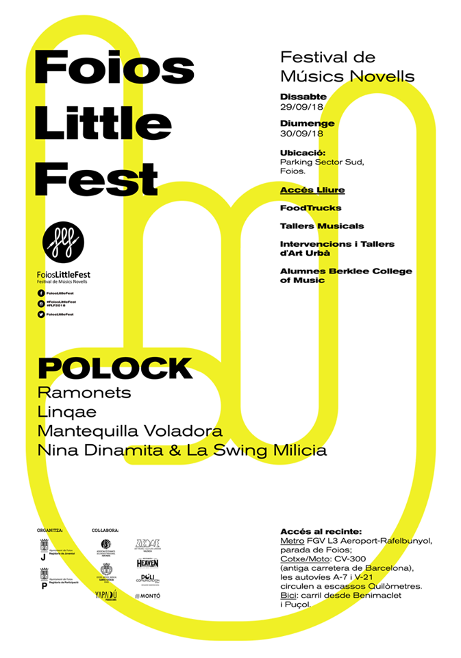 Mañana arranca Foios Little Fest 018