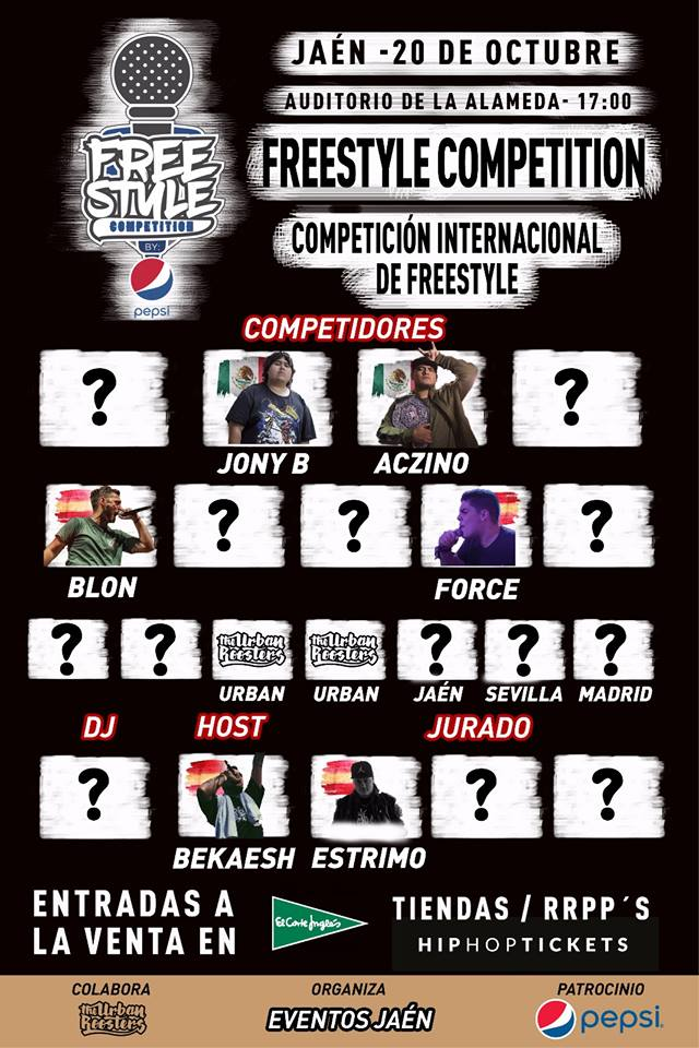 Se acerca la Freestyle Competition a Jaén