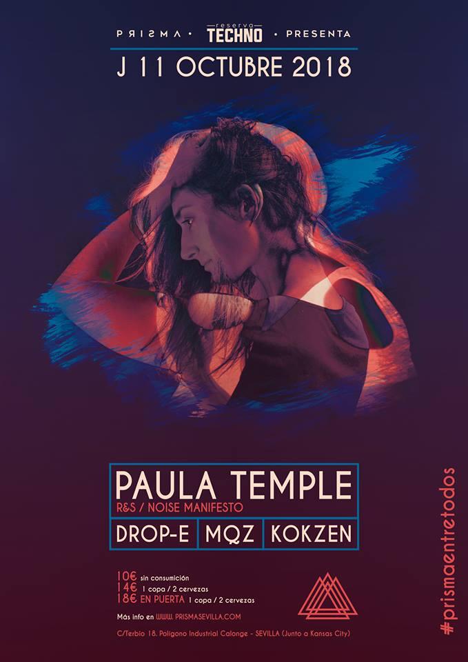 Paula Temple hará temblar el suelo de Prisma