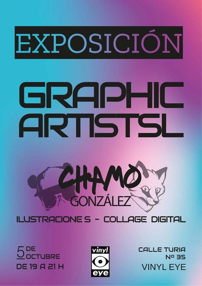 Graphicartistsl estrena exposición en Vinyl Eye